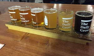 The Daily Growler Flight