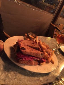 The Crest | Hot Pastrami Melt