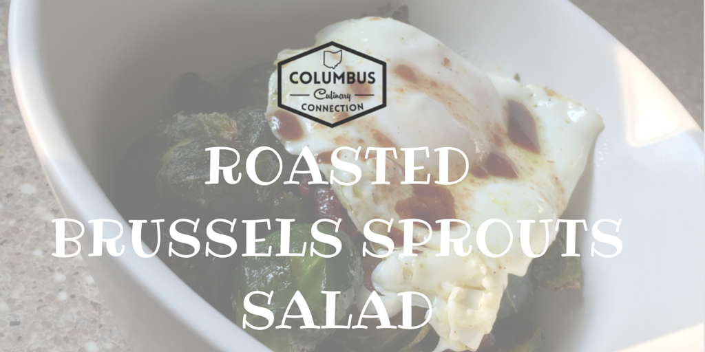 Roasted Brussel Sprouts Salad Recipe