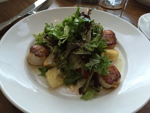 Pan Seared Scallops | Hudson 29 Review