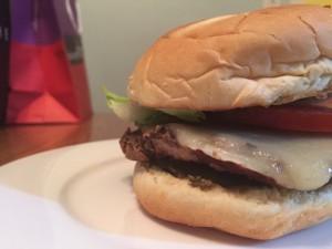 Veggie Burger   Harvest Moon Cafe Review