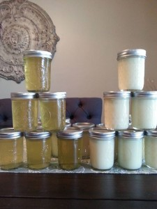 Limoncello-making with friends was time-consuming but so worth it!