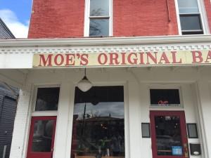 Moe's Original BBQ Store Front