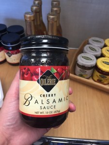 Cherry Balsamic Sauce