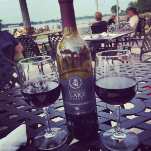 Lakeview Red at Buckeye Lake Winery