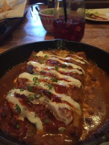 Chicken and Corn Enchiladas from NADA