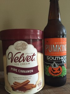Ingredients for the Pumpkin Spice