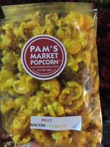 Bacon Cheddar Popcorn from Pam's Market Popcorn