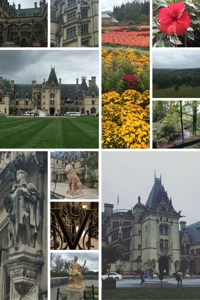 The beautiful Biltmore Estate in Ashville, NC