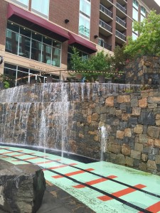 Fountain in Greenville SC