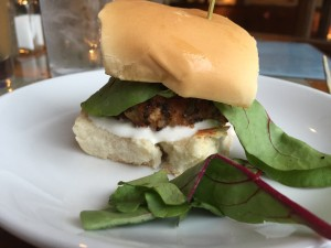 Quinoa Slider: Strongwater Food and Spirits