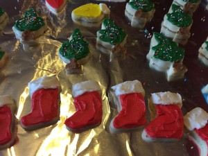 Christmas Cookie Stockings and Trees