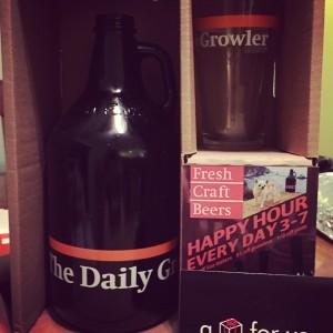 The Daily Growler Starter Kit