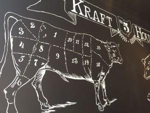 Inside of Kraft House No. 5