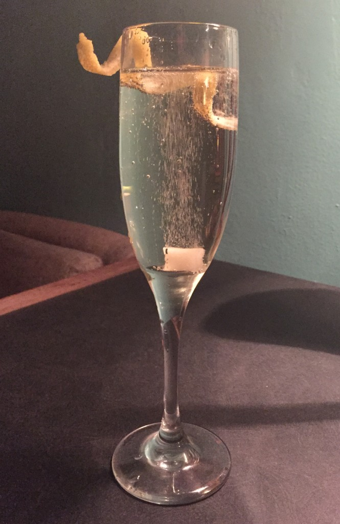 Champagne Cocktail from Strongwater