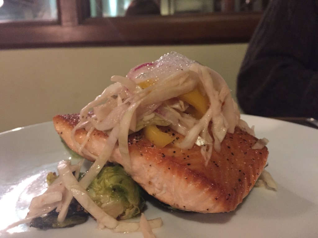 Salmon from Strongwater Food and Spirits