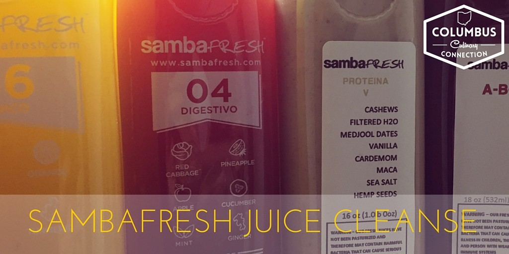 sambaFRESH Juice Cleanse