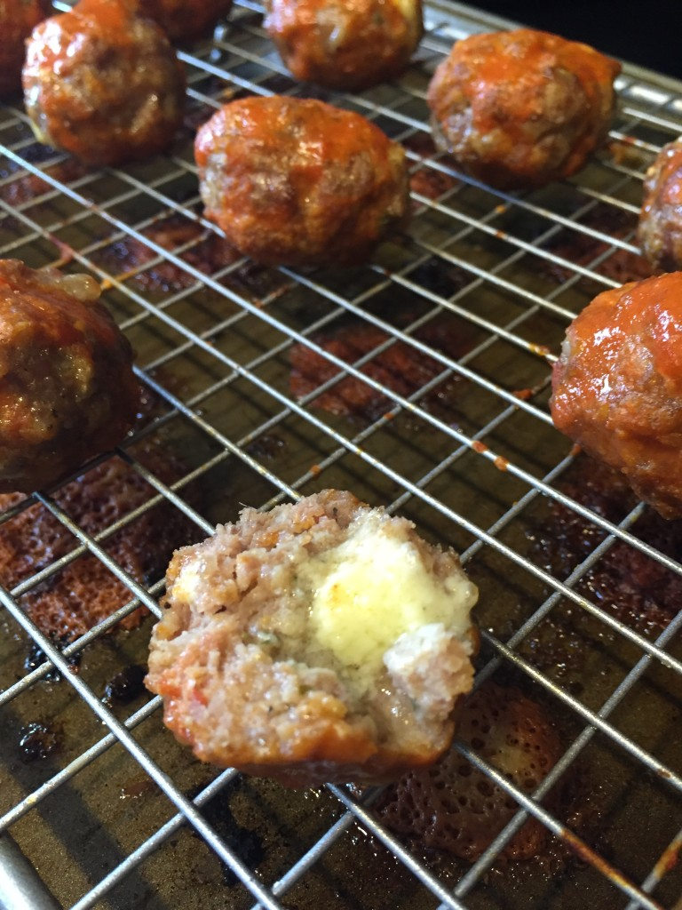 Blue Cheese in the Meatball