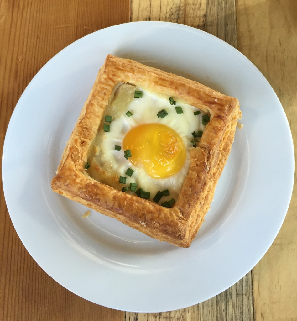 Egg Tart from Fox in the Snow Cafe