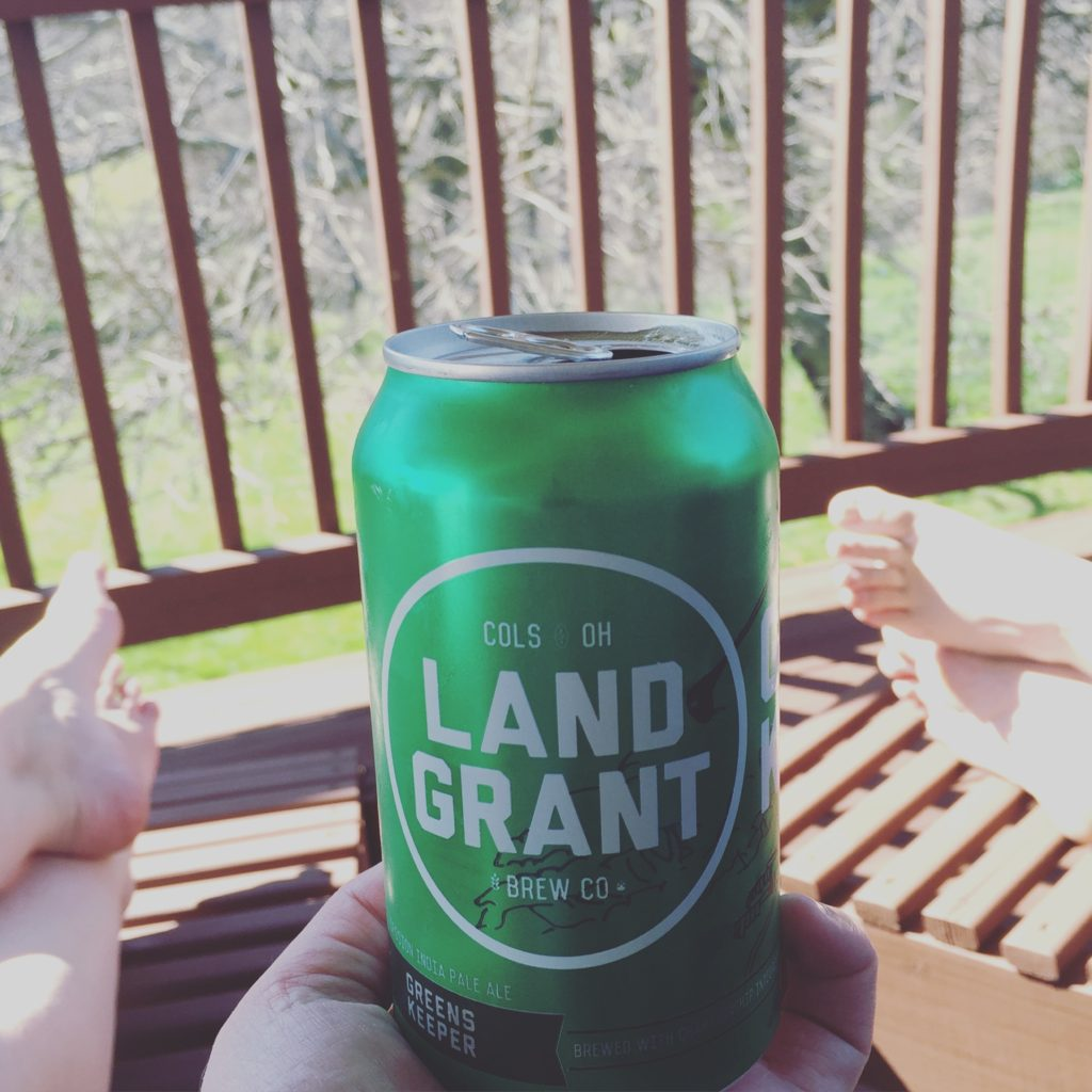 Land-Grant Brewing: Greenskeeper Session IPA
