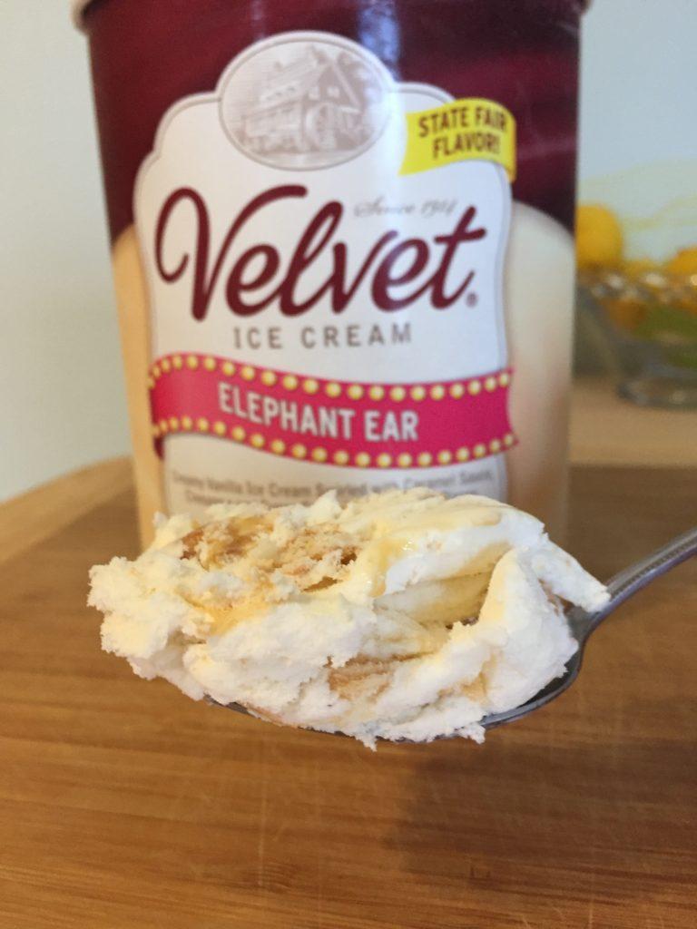 Velvet Elephant Ear Ice Cream