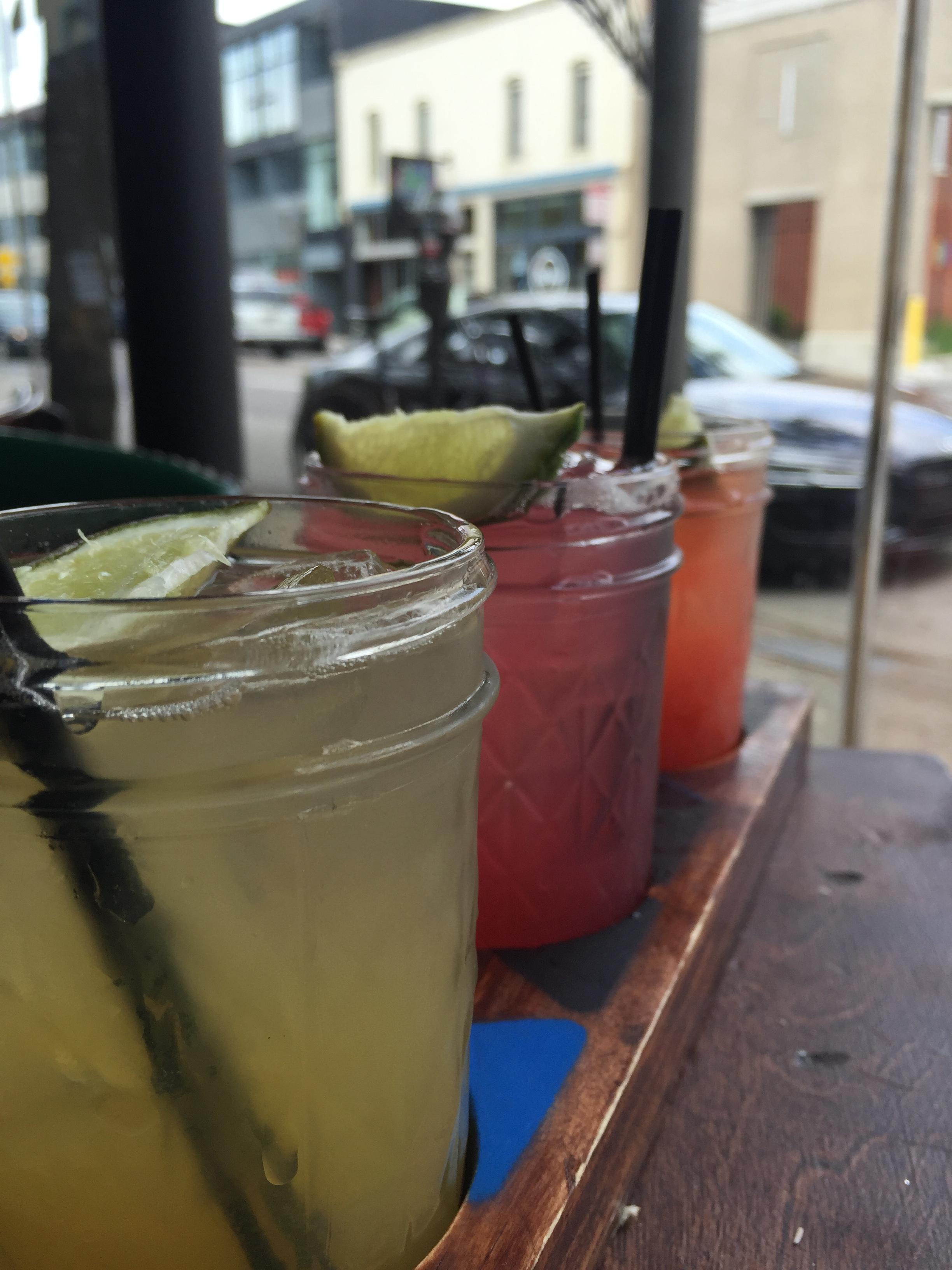Condado Tacos: Margarita Flight