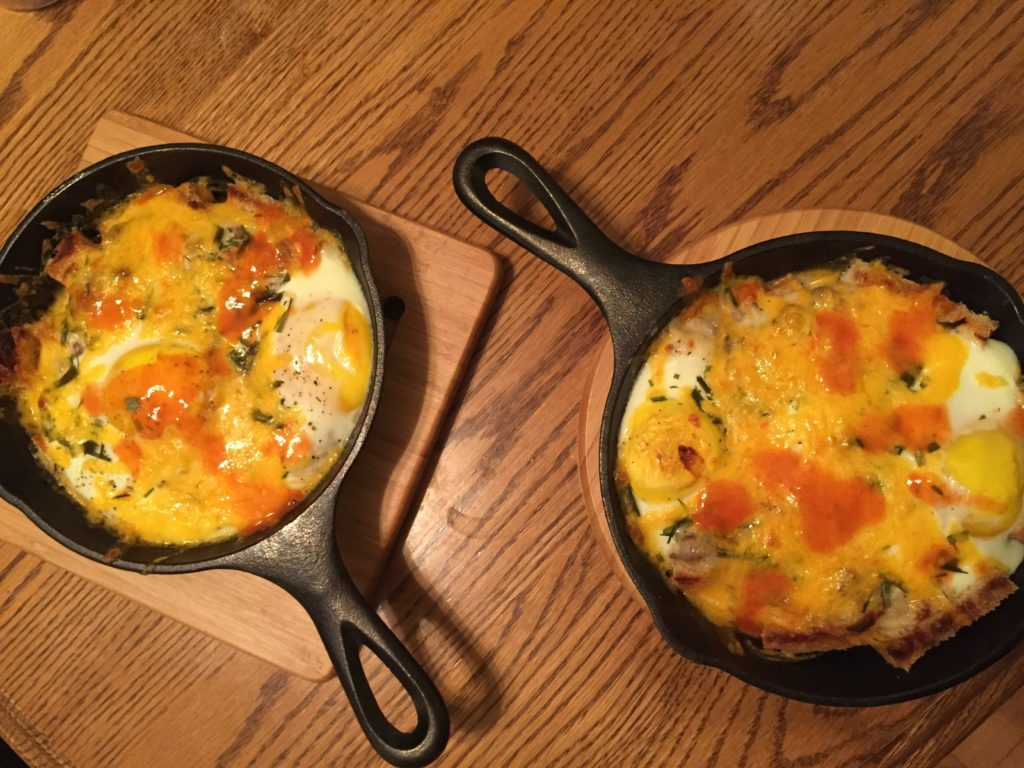 Sausage & Gravy Breakfast Skillets