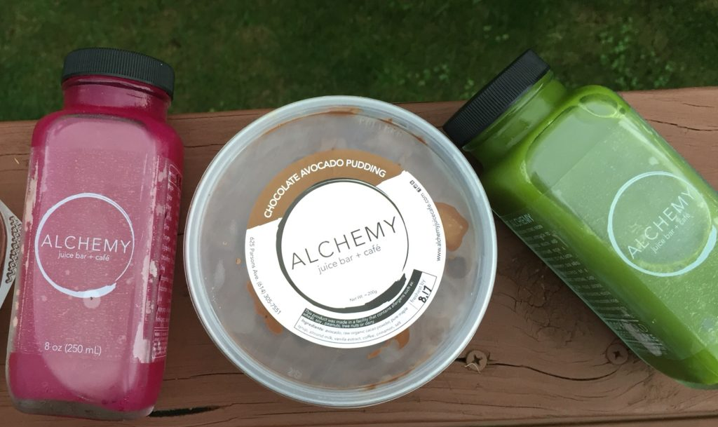 Chocolate Avocado Pudding: Alchemy Juice