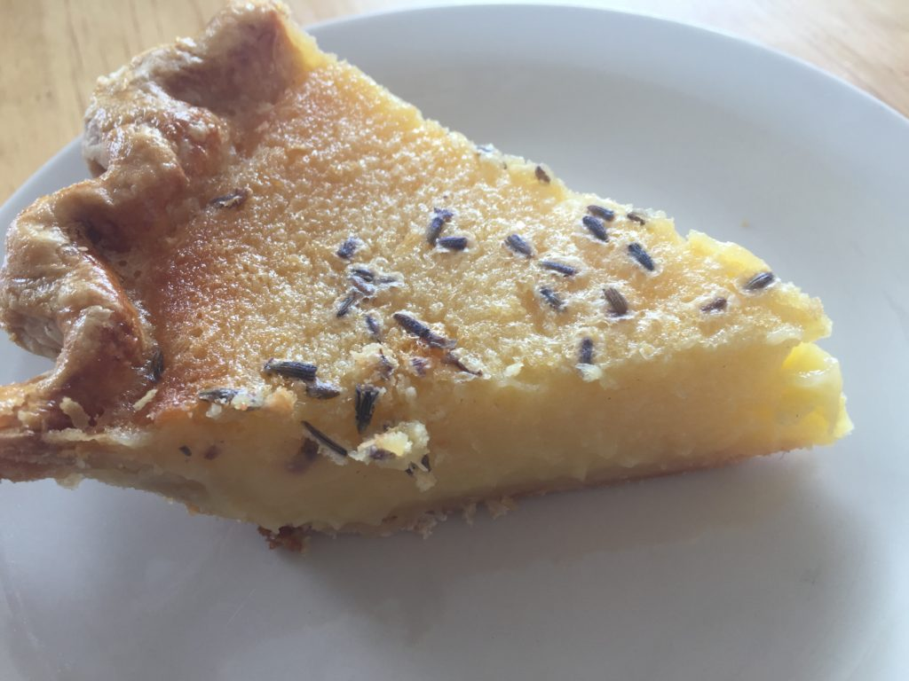 Lemon Lavender Chess Pie: Dough Mama