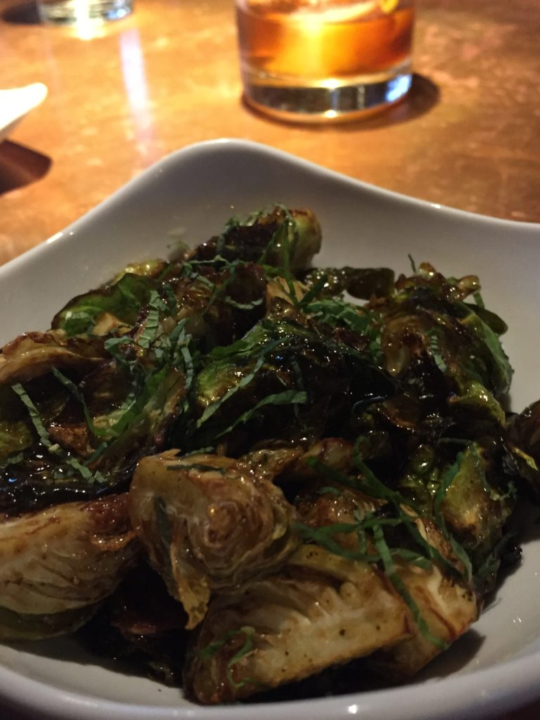FRIED BRUSSELS SPROUTS | Watershed Kitchen + Bar