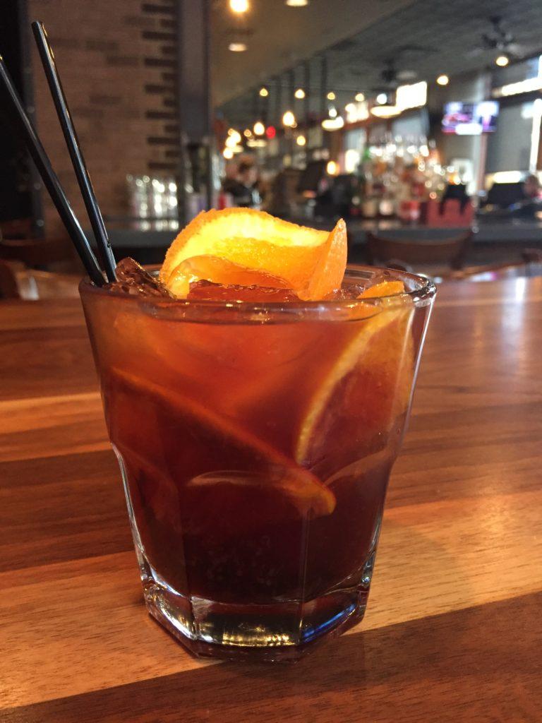 Rye Old Fashioned - Stack City Burger Bar