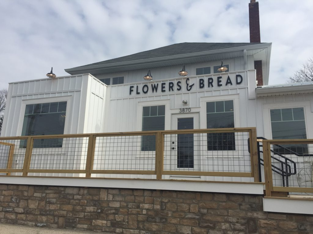 Outside of Flowers & Bread