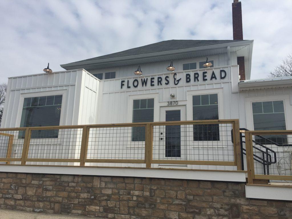Outside of Flowers & Bread