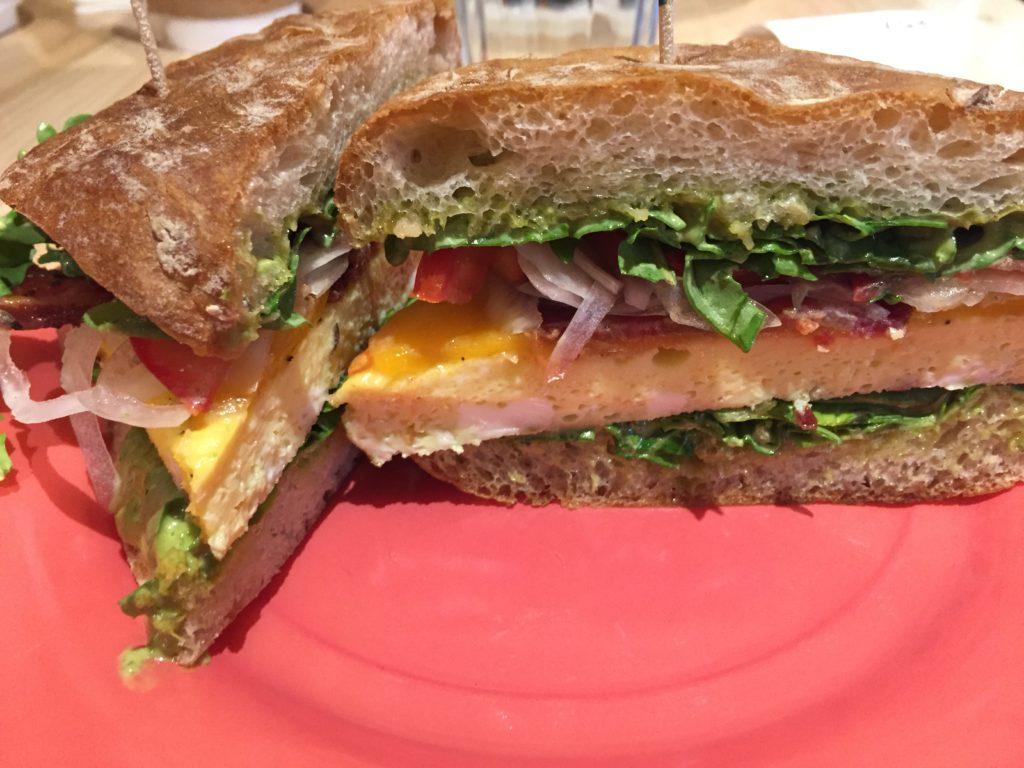 Egg Sandwich Sassafras Bakery