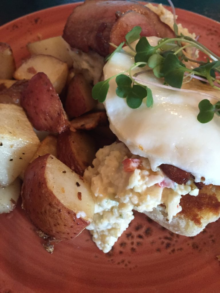 Savory breakfast from Skillet
