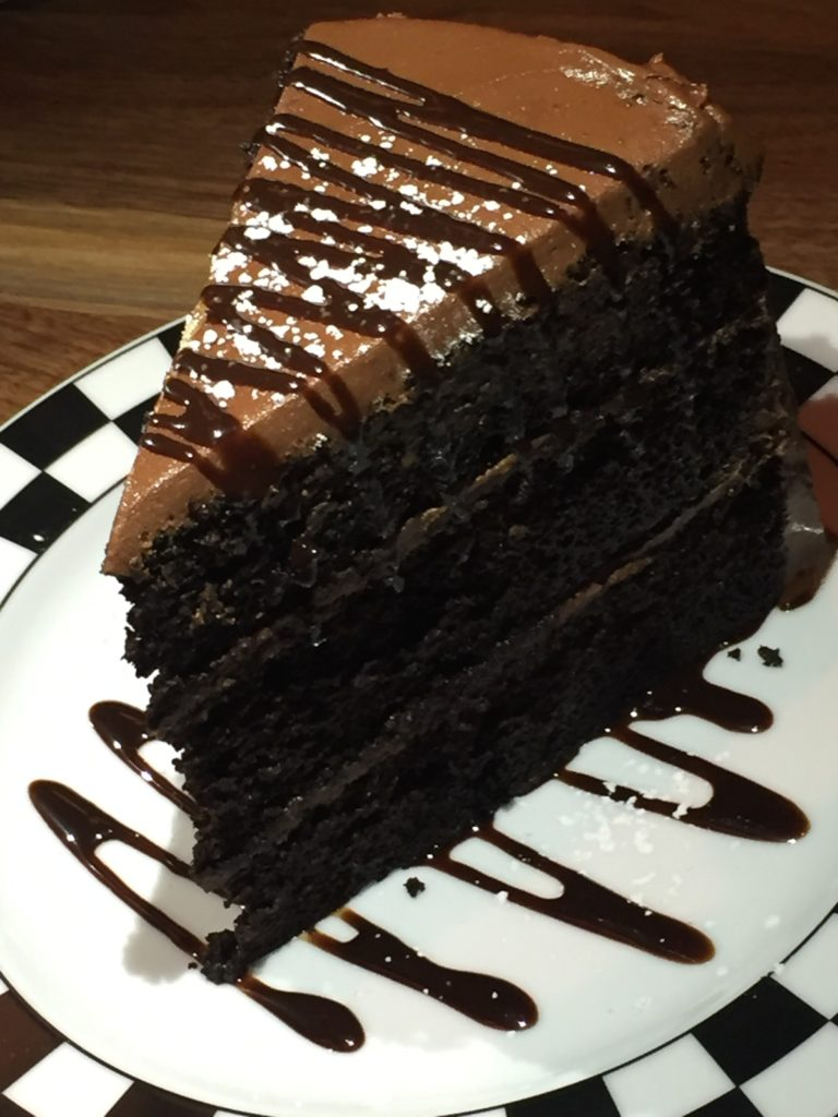 Seriously Big Chocolate Cake Cap City Fine Diner
